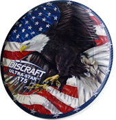Фрисби для алтимата Discraft SuperColor Ultra-Star Eagle